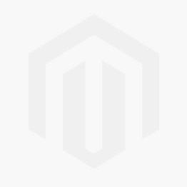 Lampa podłogowa z abażurem (miodowo-srebrna) PAPEDA