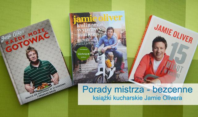 Książki kulinarne Jamie Oliver