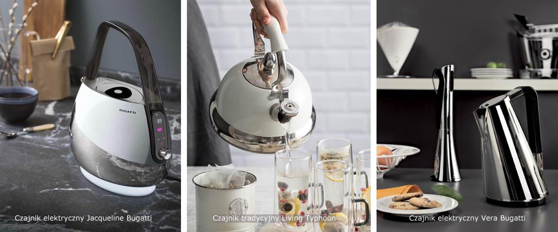 czajniki tradycyjne i elektryczne porównanie
