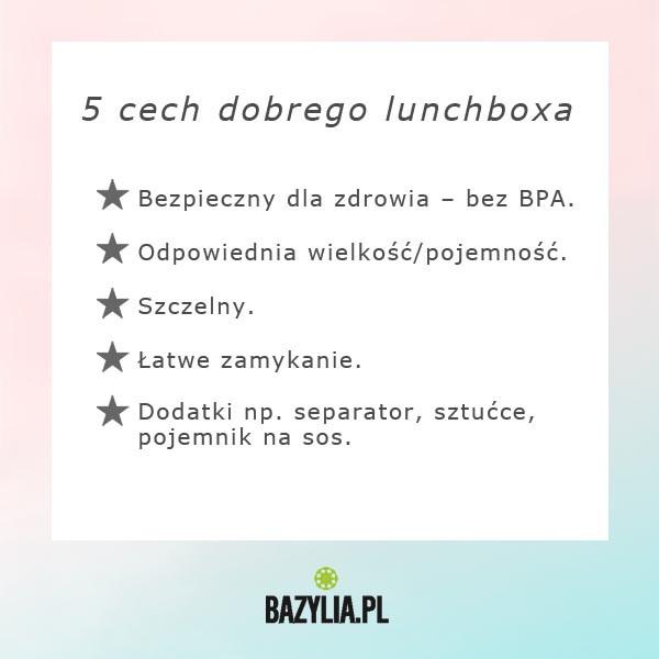 5 cech dobrego lunchboxa