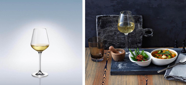 kieliszek do wina białego